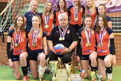 With the support of FONERGY Czech champion in volleyball